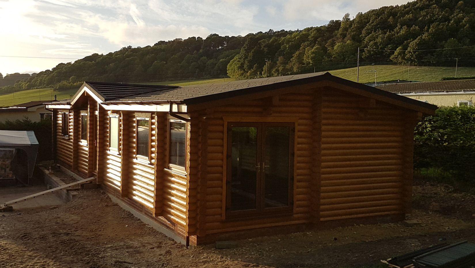 Premier Log Homes residential log buildings