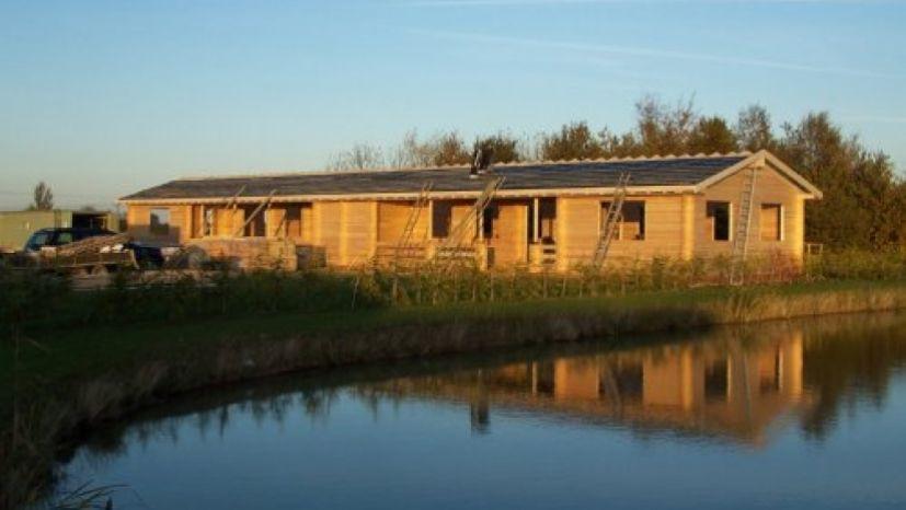 semi detached 2 bed cabin