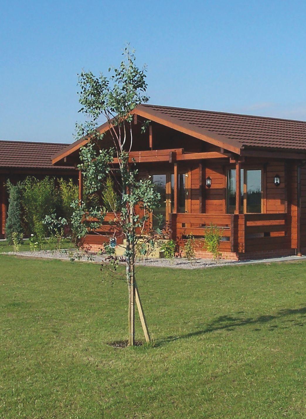 Premier Log Homes log buildings