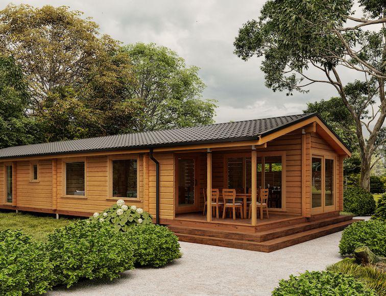 Mobile compliant log homes